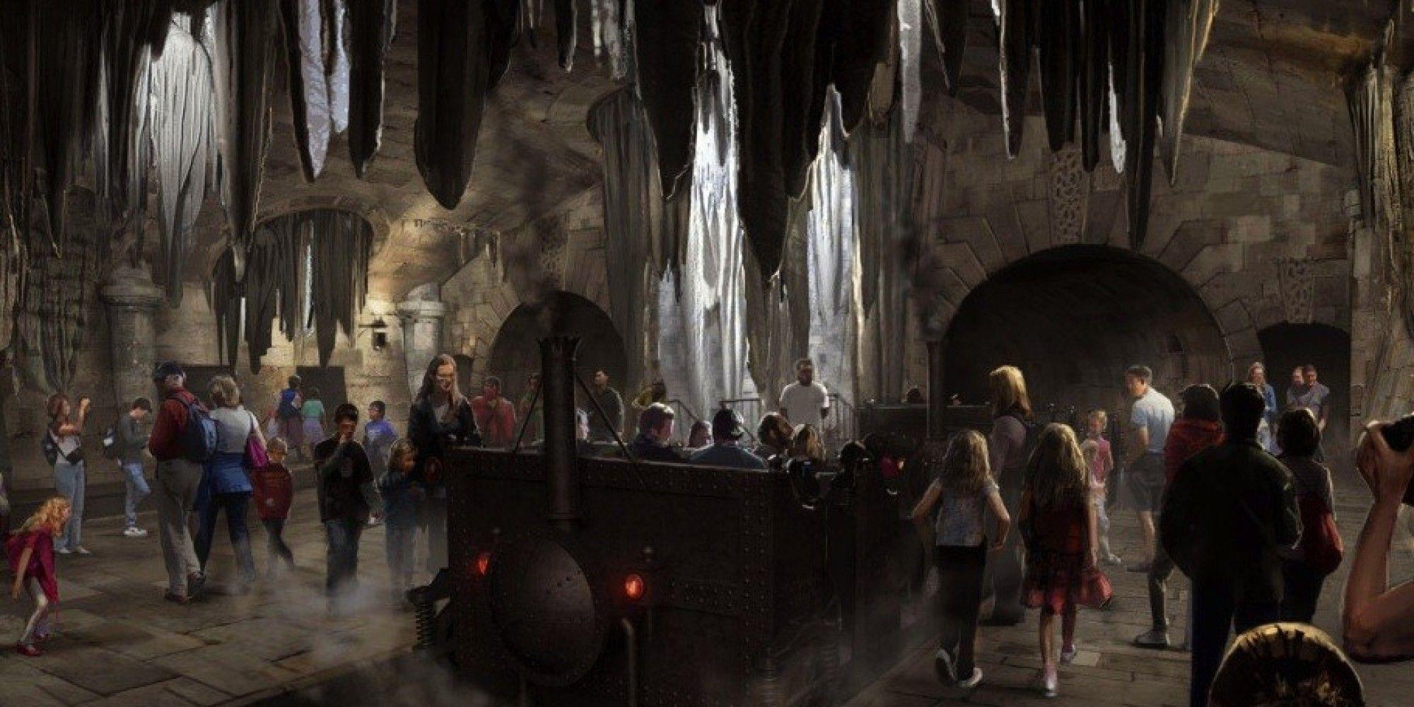 Sneak Peek At Universal S New Harry Potter Ride Harry Potter Ride Universal Studios Orlando Wizarding World Of Harry Potter