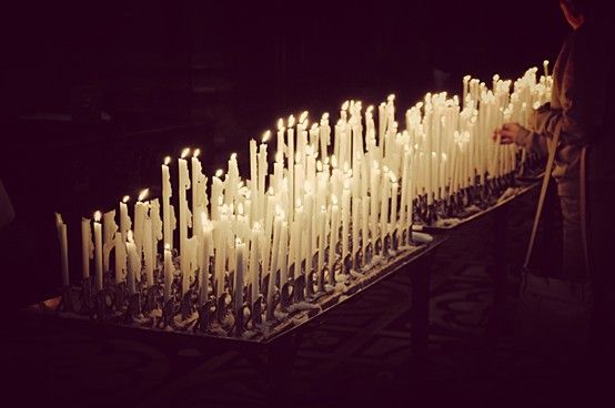 candles of confession
