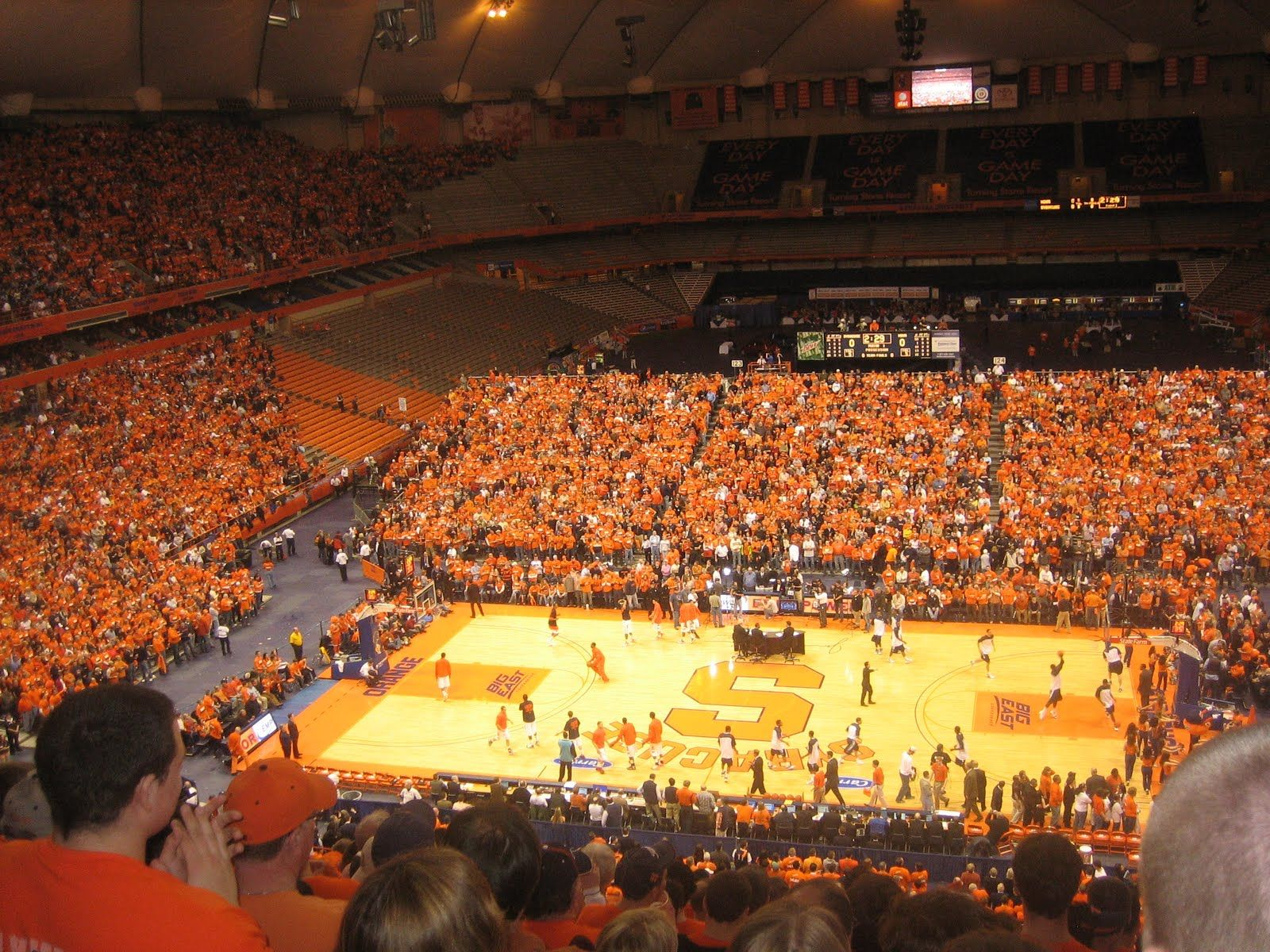 The Carrier Dome Home Of The Syracuse Orange Football