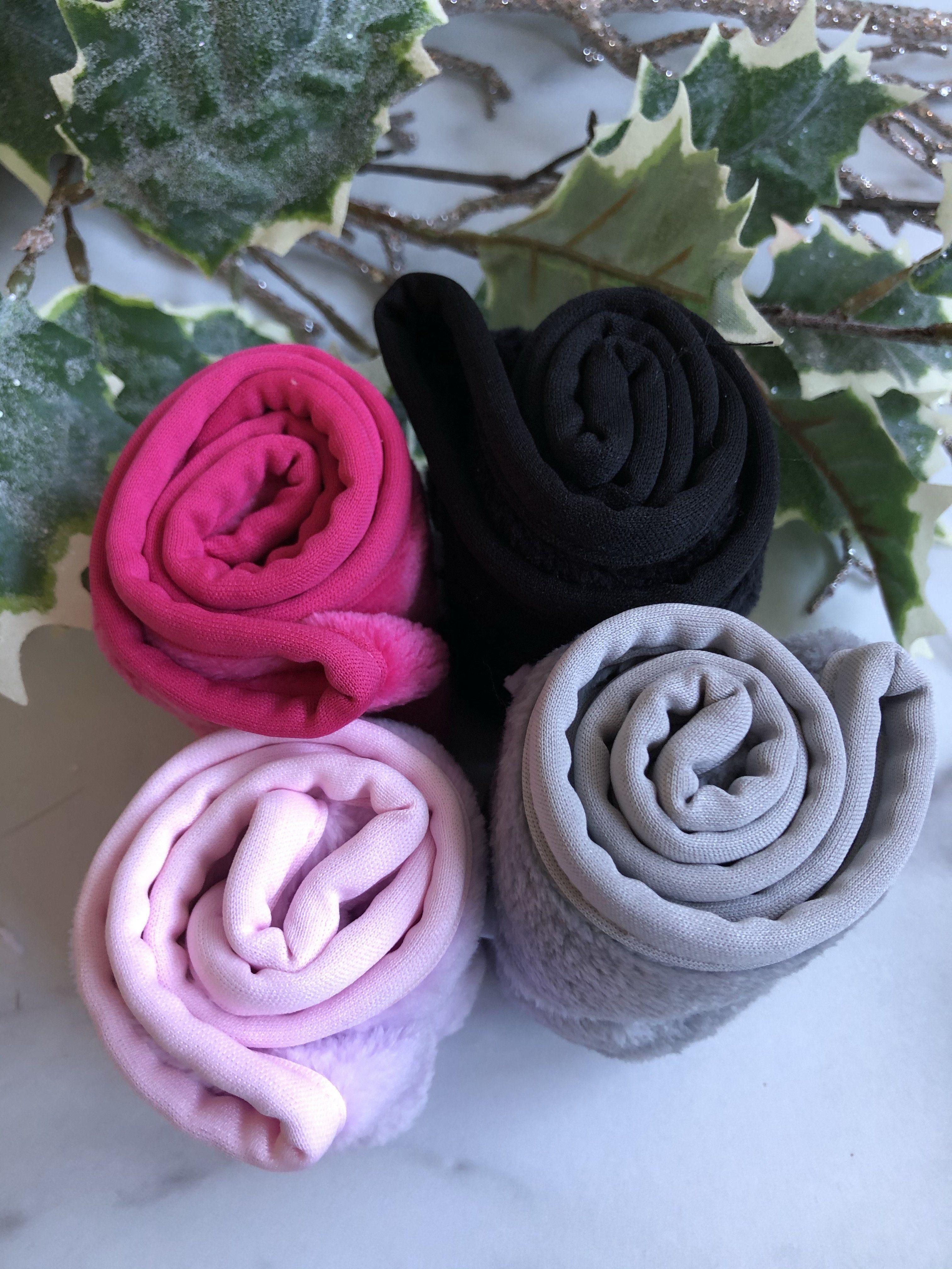 Luxe und Soft Spa Headwraps – Orchidee