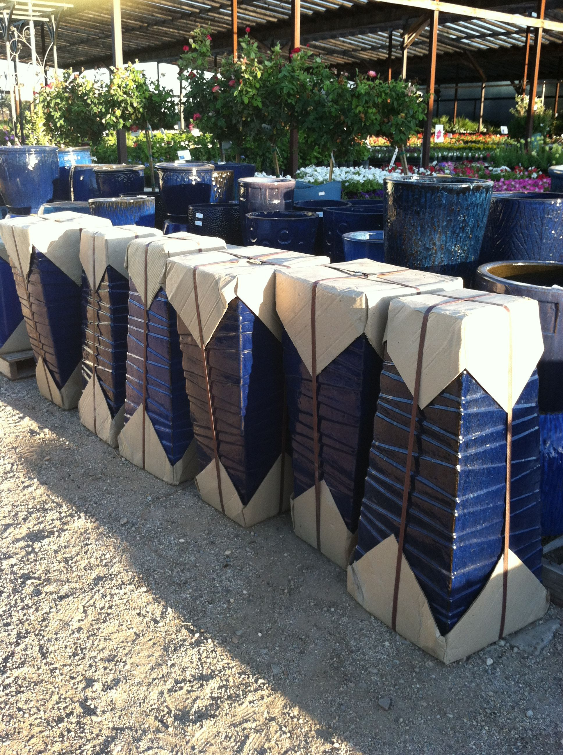 New Cobalt Blue Pots, direct from Asia!!