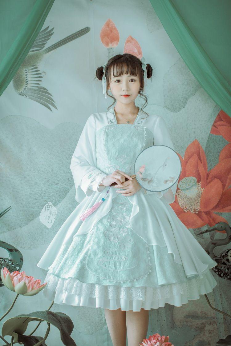 "portal-of-fantasy: "" ""New Hanfu Lolita dress reservation from 南柯忆 ..."