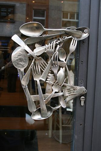 Unusual Door Handles Are Wonderful Ways To Personalize Door Decoration, Add  Unique Details To House Exterior Design And Recycle Items That Clutter Homes