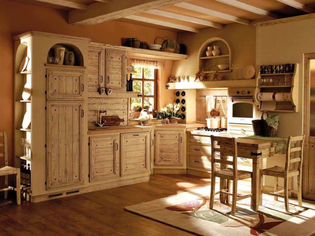 Cucina/Country/Legno chiaro/ http://www.pinterest.com/Arredocountry ...