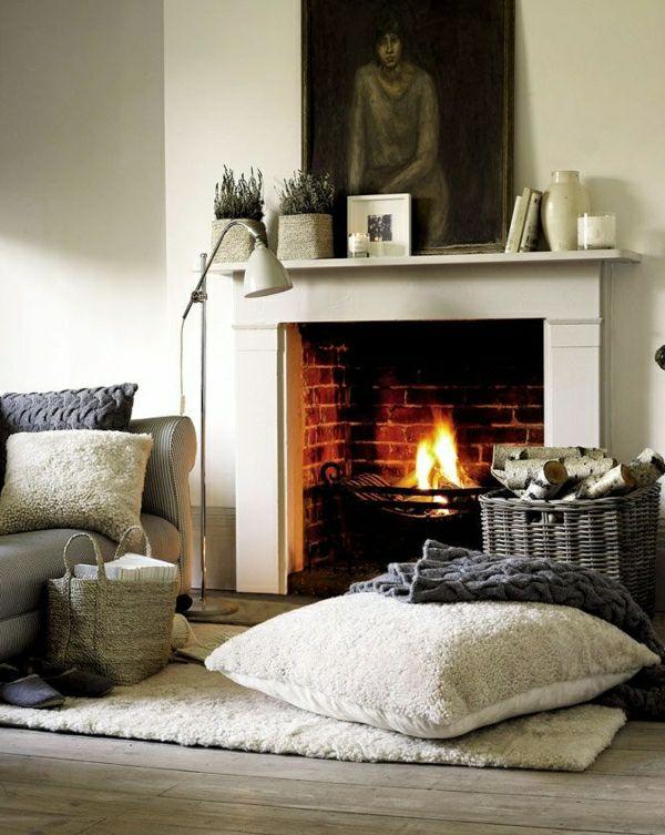 Kreative Einrichtungsideen kreative einrichtungsideen wohnzimmer kamin interior design deco