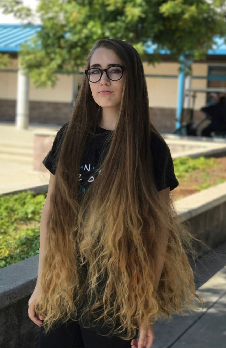 Beautiful Long Hair Long Hair Styles Hair Styles Extremely Long Hair