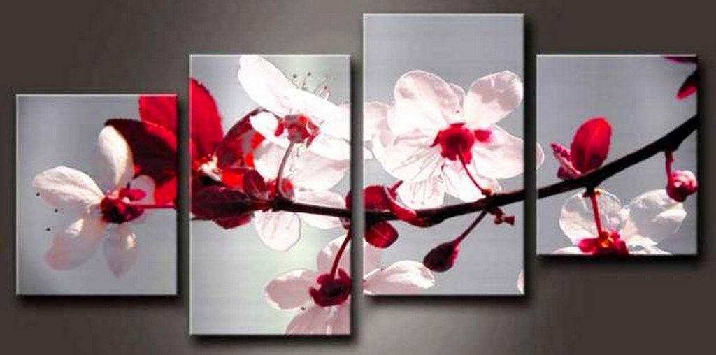 Pin de betiana barzola en pintura cuadros modernos para - Cuadros flores modernas ...