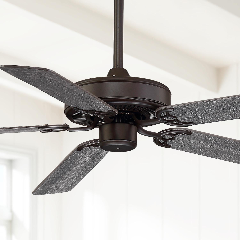Ceiling Fans 52 Casa Bay View Oil Rubbed Bronze Damp Ceiling Fan In 2020 Ceiling Fan Led Ceiling Fan Bronze Ceiling Fan