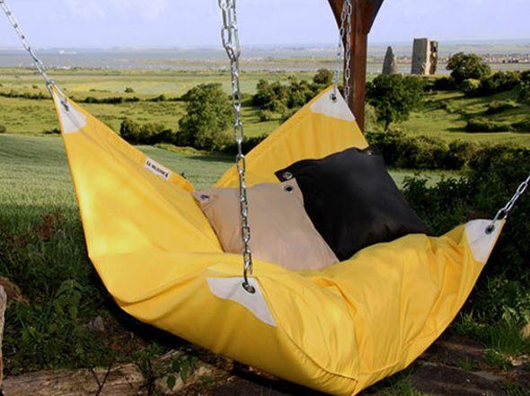 le beanock hamac canape sofa 3 un hamac pinterest hamacs fauteuil hamac et suspendu. Black Bedroom Furniture Sets. Home Design Ideas
