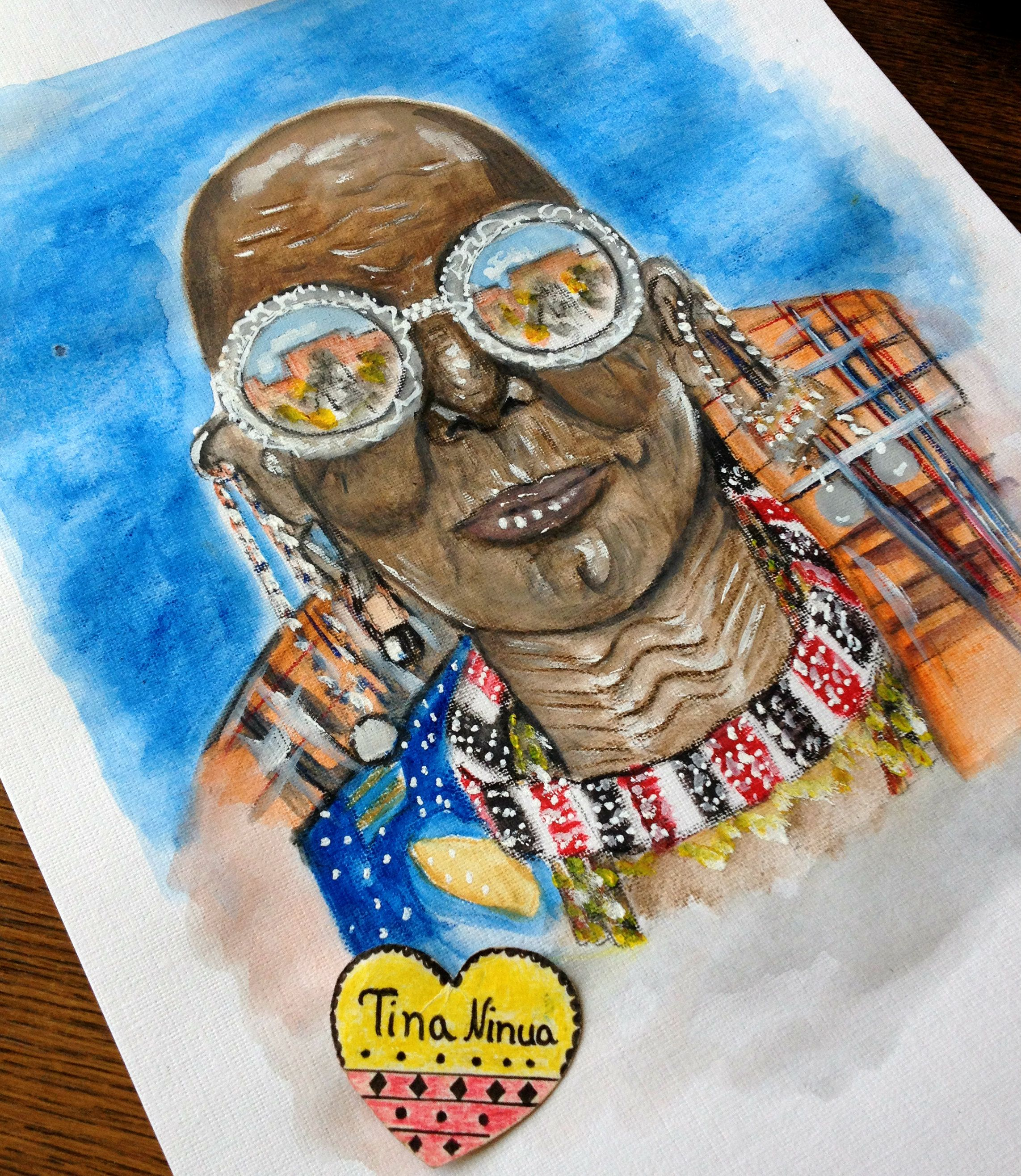 My Drawing #Afrostyle #Watercolor #ColoredPencil #Illustration #Art #Artist #Drawing #Painting