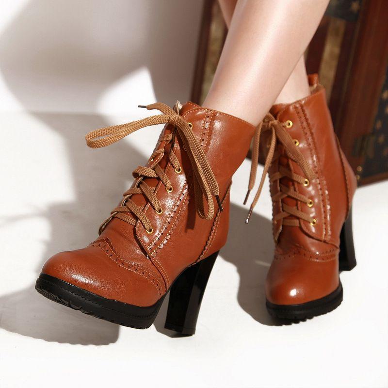Free Shipping 2013 New Arrival Vogue Brand Ladies' Stilettos Platform Pumps Suede High Heel Women Fashion Shoes Ankle Boots $89.58