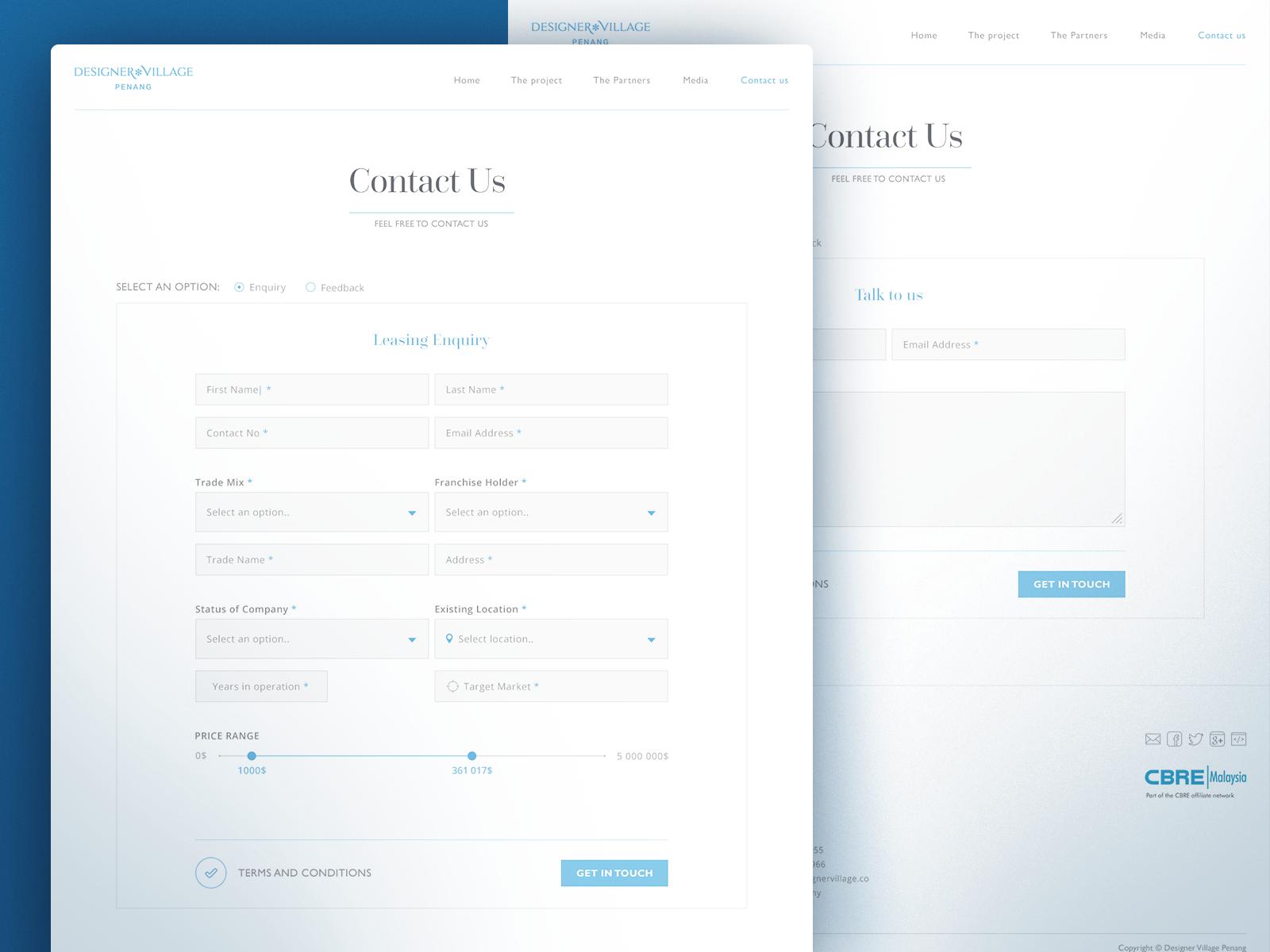 Lili Pzh Screen 3 Png By Uixninja Contact Us Page Design Web Design Creative Web Design
