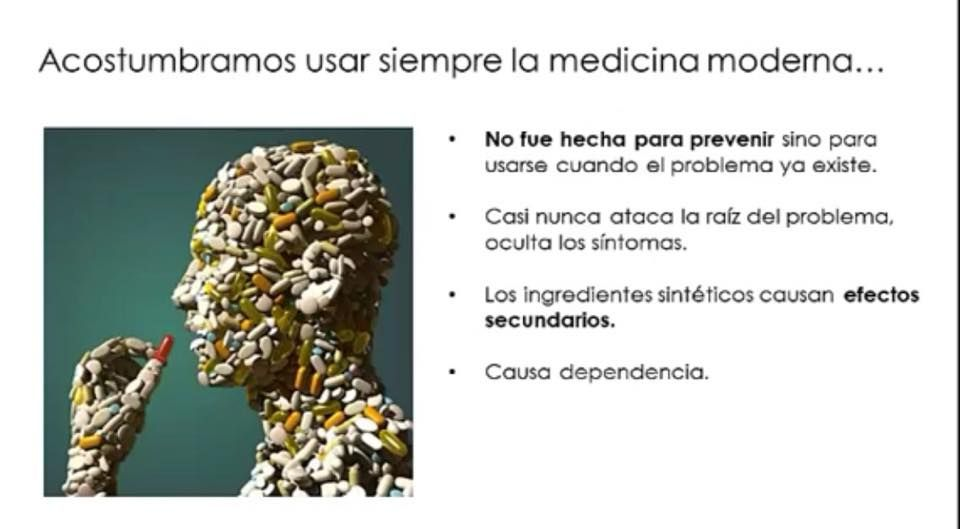 La medicina moderna y su efecto en nuestra salud.