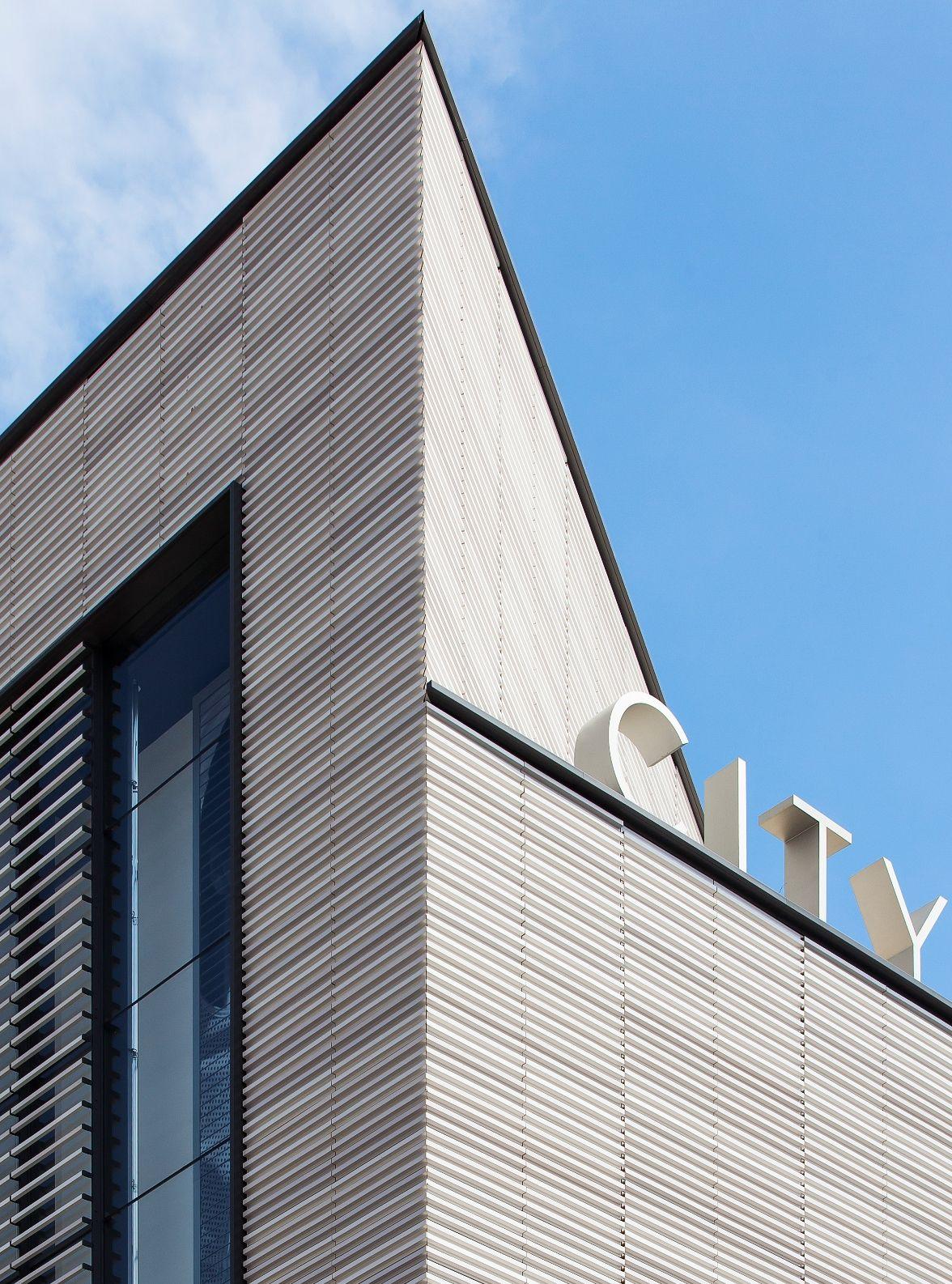 Facade: City Point Terracotta Rainscreen