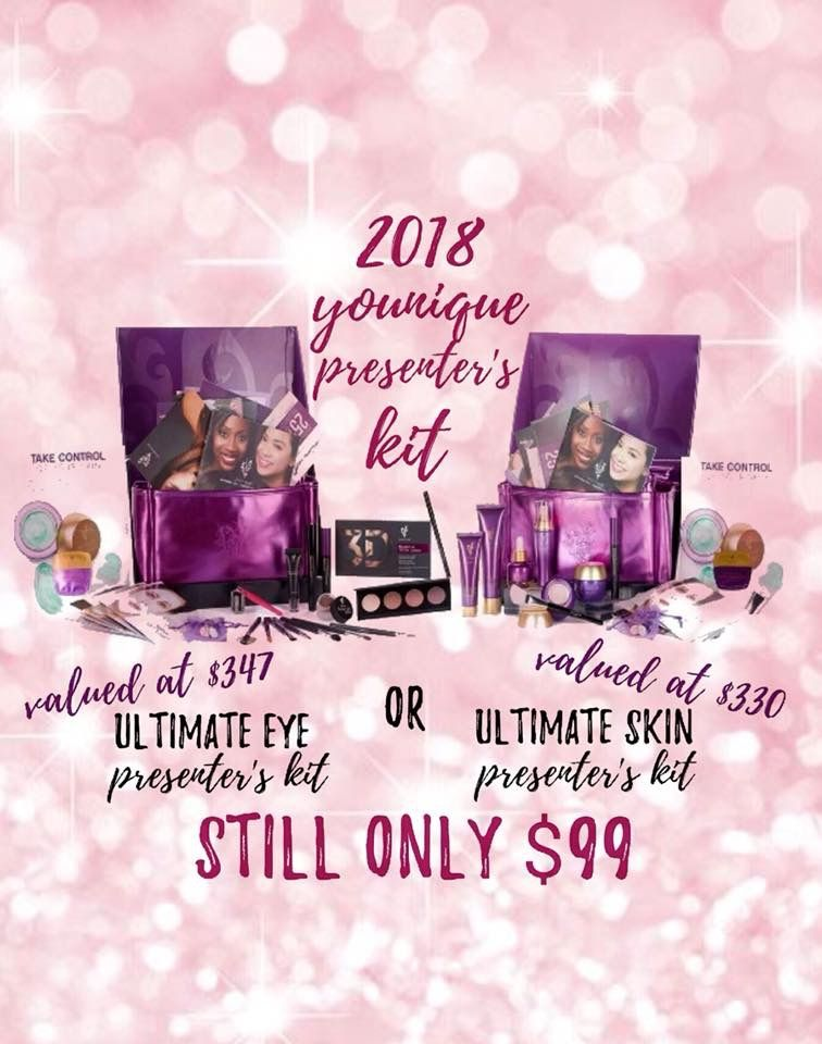 january february choice of two younique presenter kits which will you chose wwwyouniqueproductscommakeupteachersedition