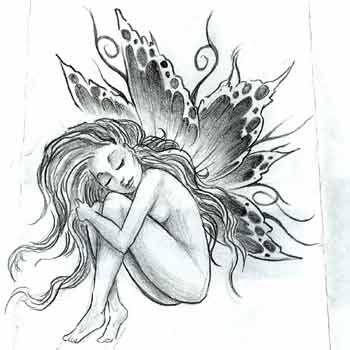 desenhos de anjinhos para tattoo pesquisa google silviasoeiro pinterest anjinho. Black Bedroom Furniture Sets. Home Design Ideas