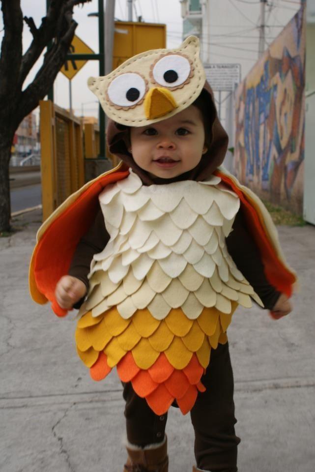 Disfraz de buho owl costume para mis nietas in 2019 - Disfraces de buhos ...