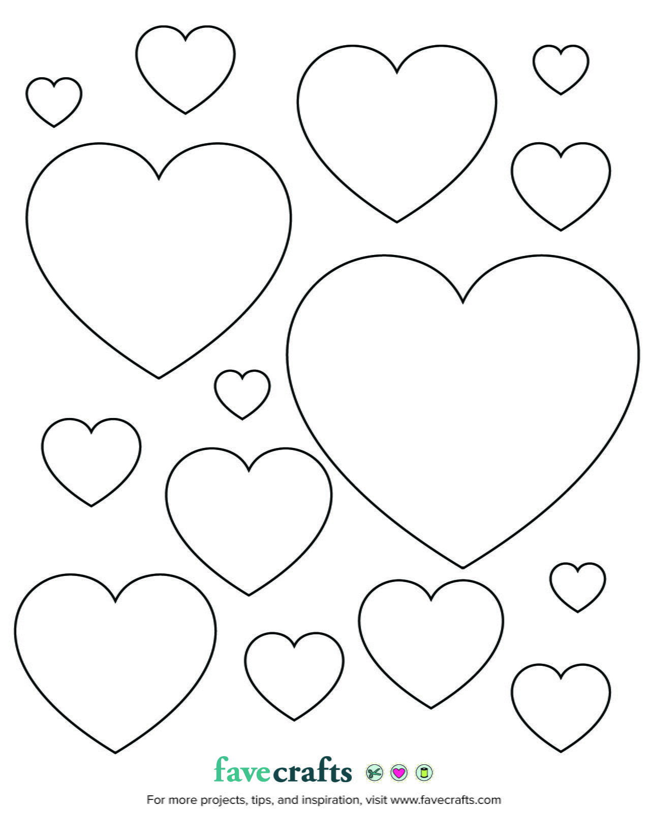 Printable Hearts Heart Printable Printable Heart Template Heart Coloring Pages