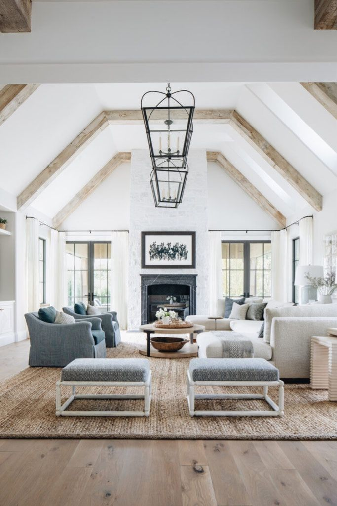 ... modern farmhouse: what's not to love... | livingroom design