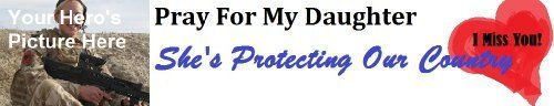 Personalized Military Daughter Prayer Bumper Sticker  Price : $5.97 http://healing-kits-and-cards.hostedbywebstore.com/Personalized-Military-Daughter-Prayer-Sticker/dp/B00I86NK00