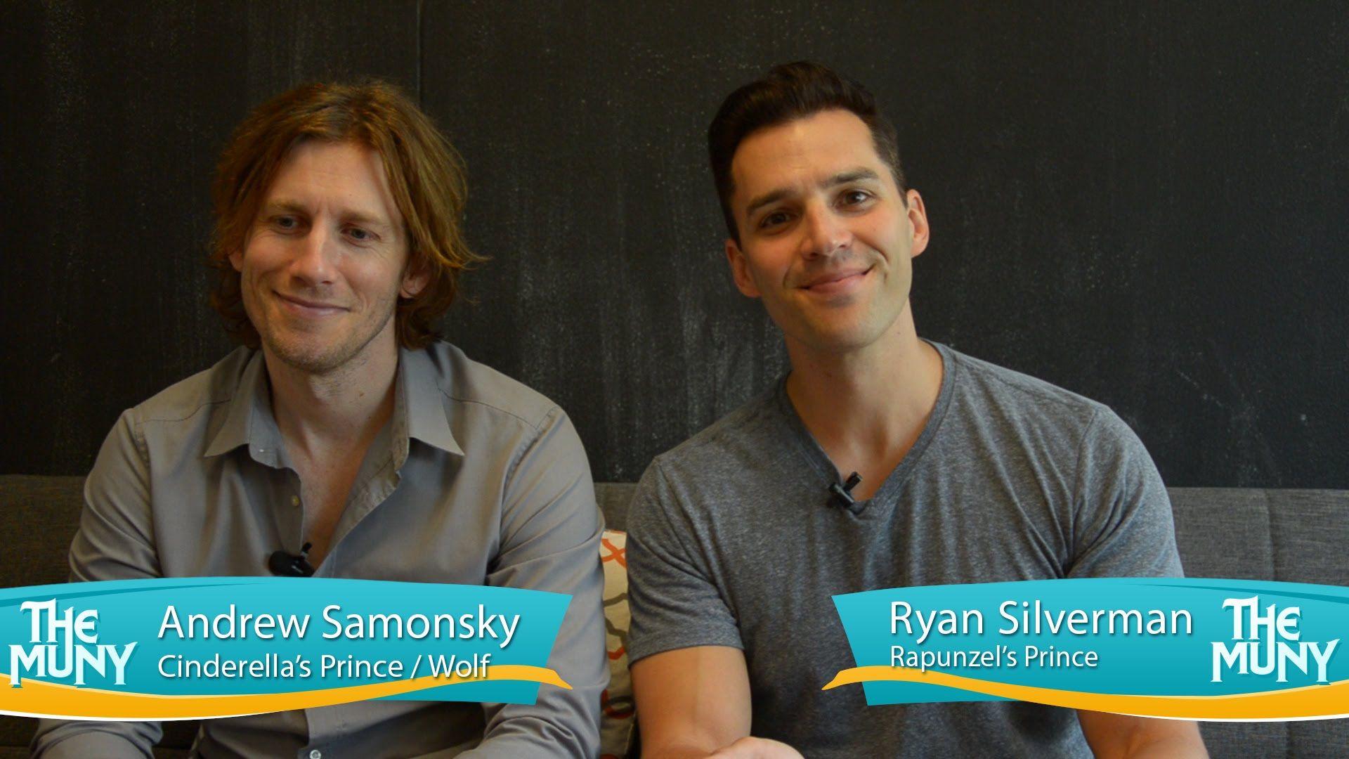 Meet Andrew Samonsky and Ryan Silverman at The Muny!