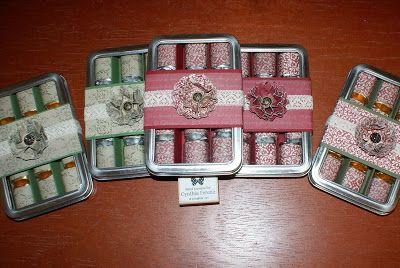 Stampin' Dragon: Christmas Craft Fair Items