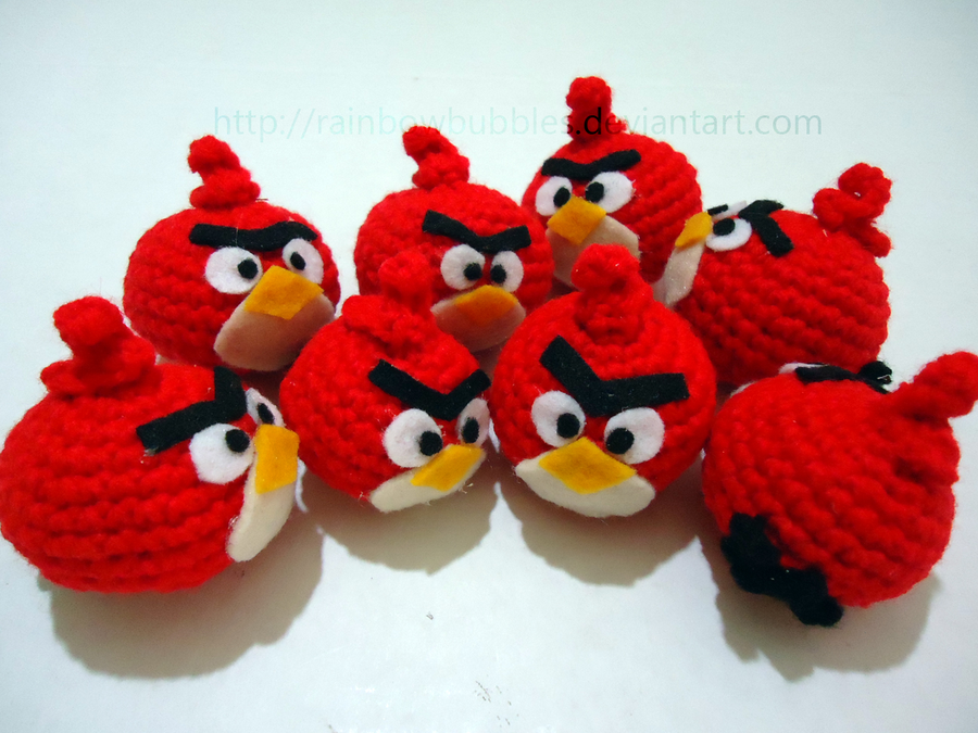 Tutorial Amigurumi Angry Bird : Angry bird how to crochet hat youtube