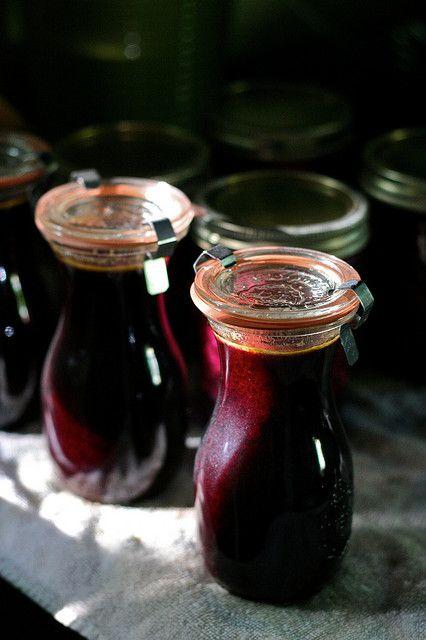 Elderberry Syrup | ~Elderberries~Red And Black Currants ...