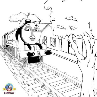 Thomas And Friends Coloring Pages Printable Display