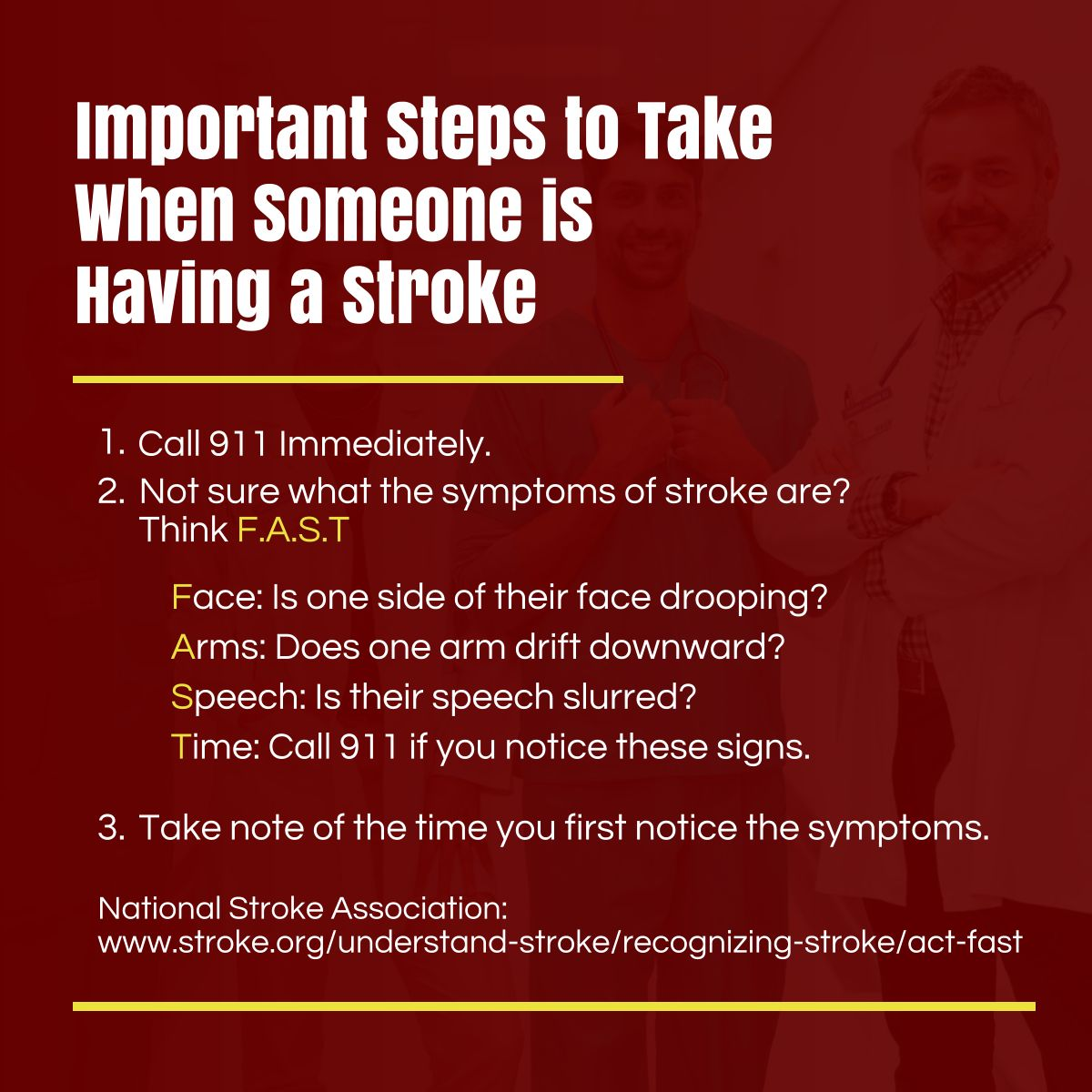 Important Steps to Take When Someone is Having a Stroke