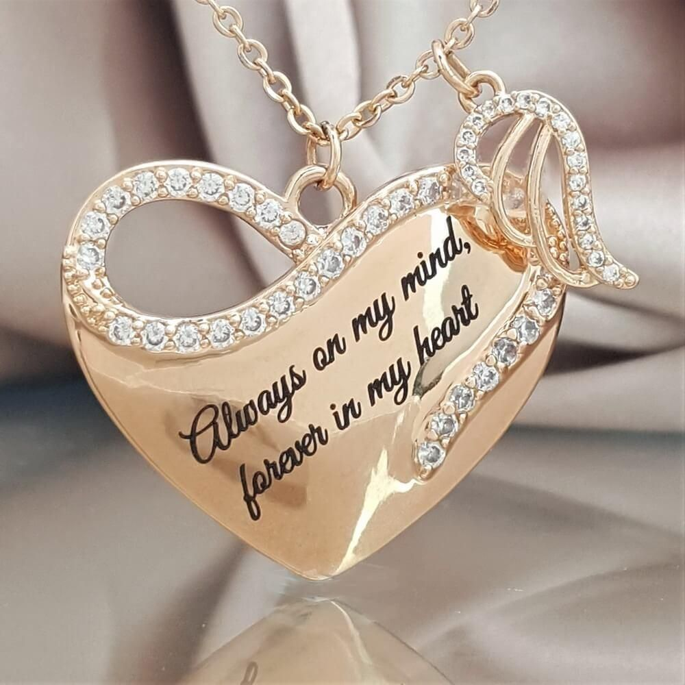 Angel By Your Side FOR YOU Silver Plated Keepsake Wedding Friend gift Free stand