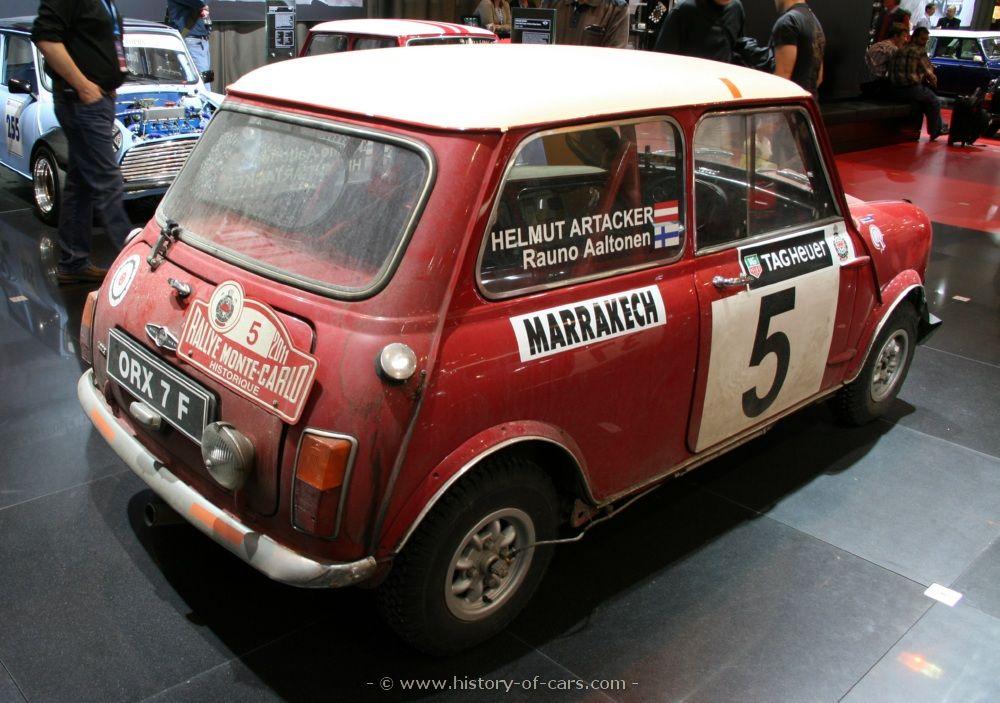 Austin Mini Cooper S Works Rally 1969 (avec images)