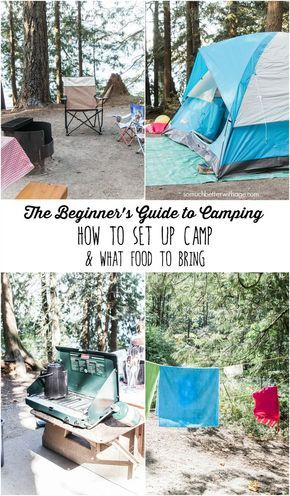 Photo of The Beginner's Guide to Camping – How to Set Up Camp & What Food To Bring
