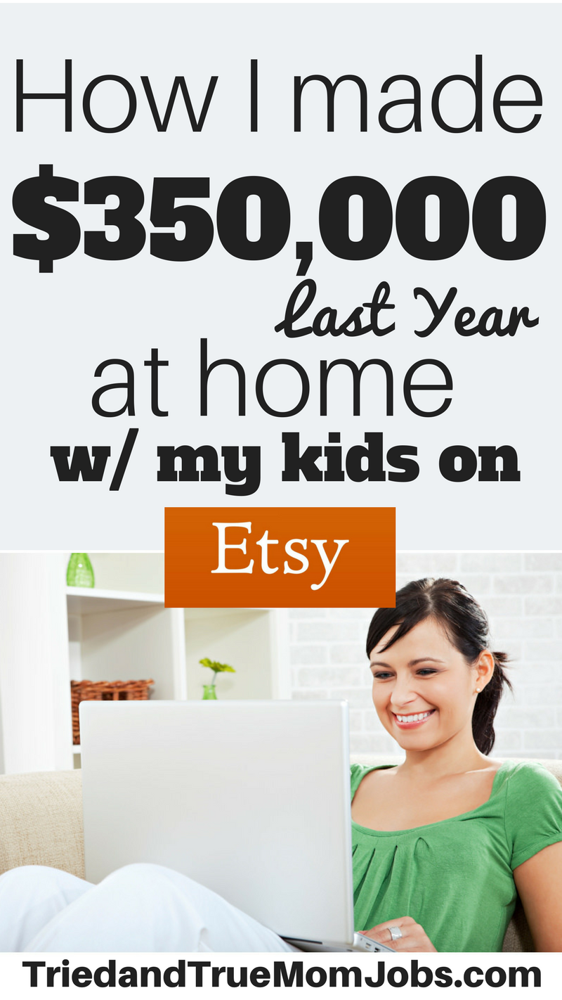 How to Turn Your Etsy Shop Into a Six-Figure Income | Three kids ...