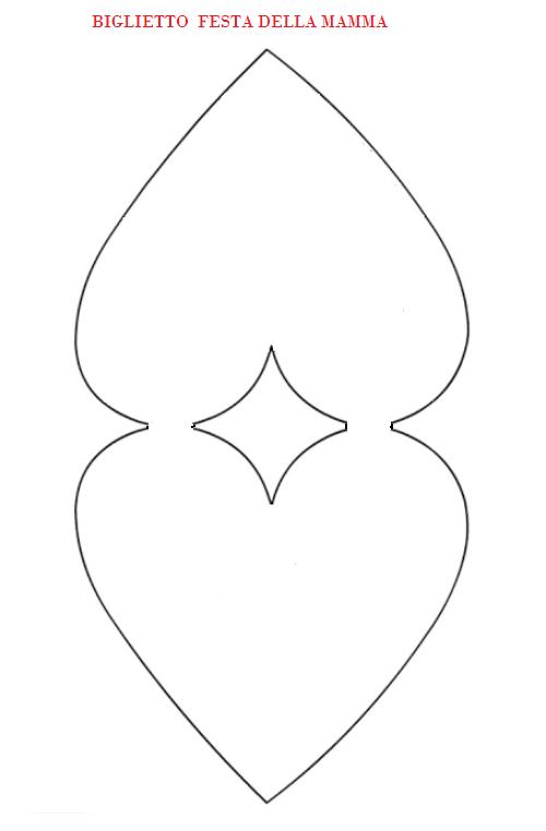 Sagome A Forma Di Cuore Per Decorare Creaconlacarta Biglietti Di San Valentino Modello Di Cuore Molletta Da Bucato