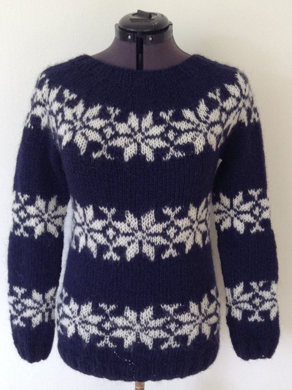 Sarah Lund handknitted sweater from The Killing. Made from ...