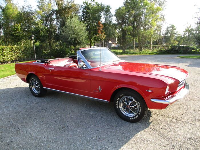 Pin Op Ford Mustang 60 S