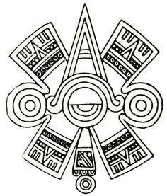 "ac2d921d5895d Ollin. Aztec glyph symbol of ""centered"" Eye or Third Eye. | Sacred ..."