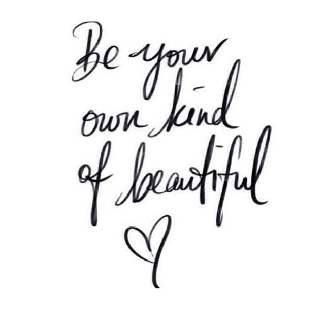 We're all beautiful #BeautyQuotes