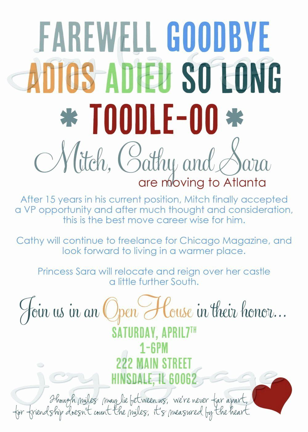 Free Printable Goodbye Cards Elegant 006 Farewell Partys Templates Template Ideas C Party Invite Template Going Away Party Invitations Dinner Party Invitations Going away flyer template free