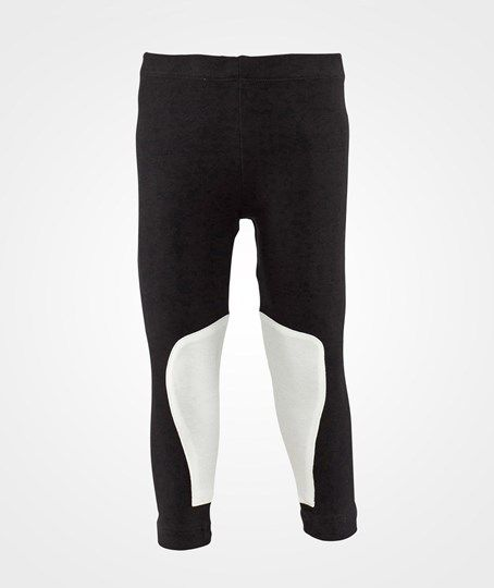 The Tiny Universe-The Tiny Leggings/Ride Black with white patches | Oiidesign.se Fri frakt över 499kr!