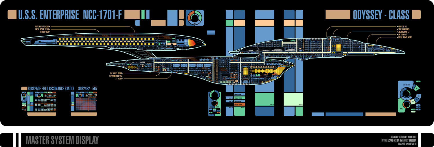 Odyssey Class MSD | Star Trek and other things | Star Trek ...