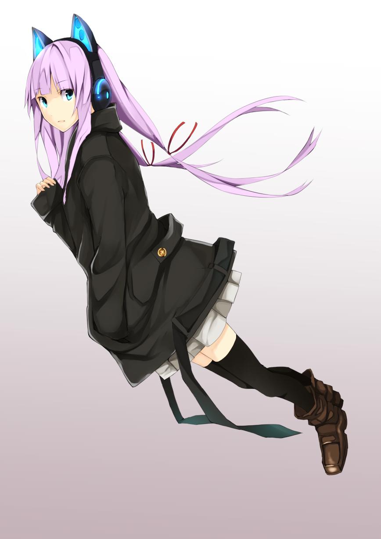 Pin On Anime Girls Purple Hair