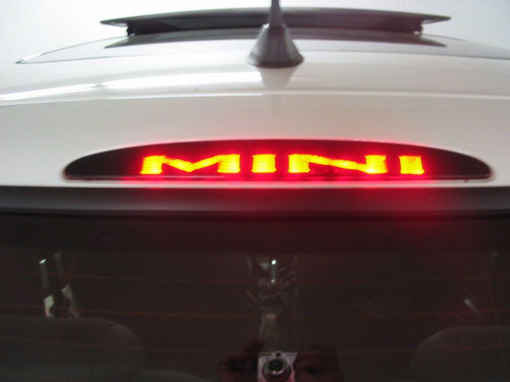 Mini Cooper 3rd Brake Light Decal Overlay 02 03 04 05 06 S Notbranded More