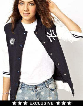 7c0451577 47 Brand New York Yankees Bomber Jacket Exclusive To ASOS on ...