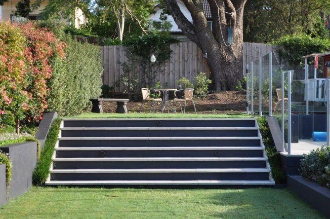 Image Result For Garden Slopes Towards House Outdoor Landscaping Garden Landscape