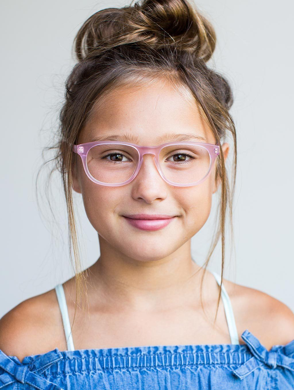 2172775b4dbc ... the Blush Pink round frame is perfect for the girls who love a pop of  color while advancing their fashionable style and increasing their ...