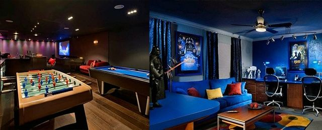 50 Gaming Man Cave Design Ideas For Men – Manly Home Retreats ...