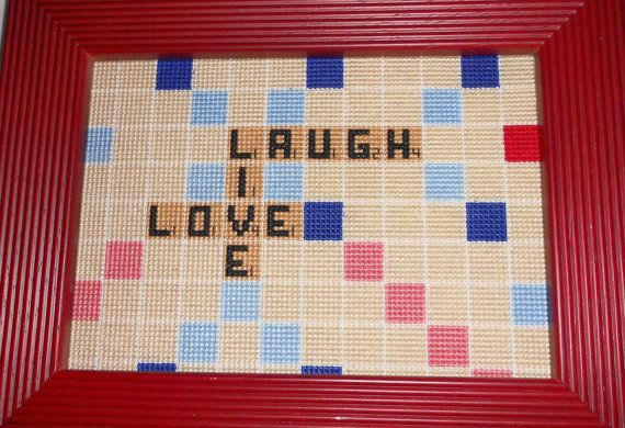Awesome for the Scrabble or Xstitch lover