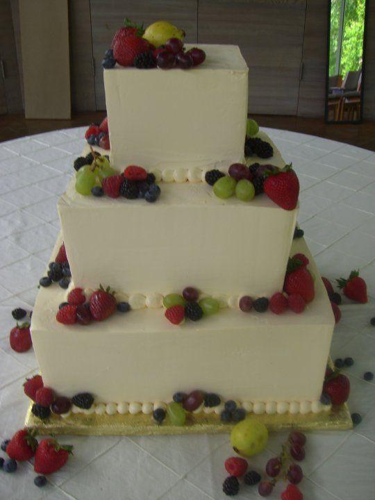Fresh Fruit Wedding Cake Mamma Mia Wedding Cake Fruit Wedding Cake Square Wedding Cakes Cake